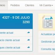 Gestion PAnel de control sistema pedidos online